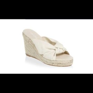 Soludos knotted wedge espadrille